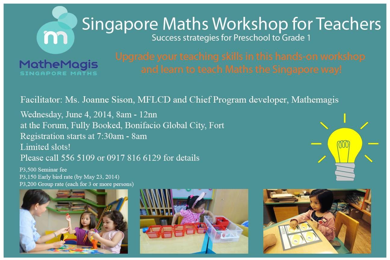 The Phenomenal Mama: Mathemagis: Singapore Math Enrichment Program