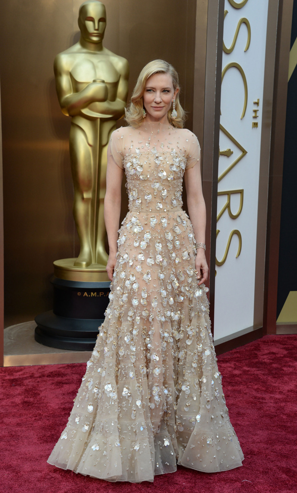 Cate Blanchett's Oscar 2014 Dress by: Armani