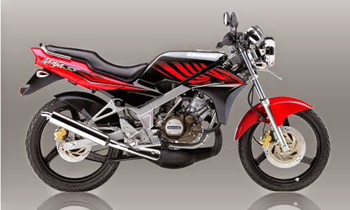 Motor Kawasaki Ninja 150SS Red