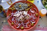 Rica y fresca ensalada