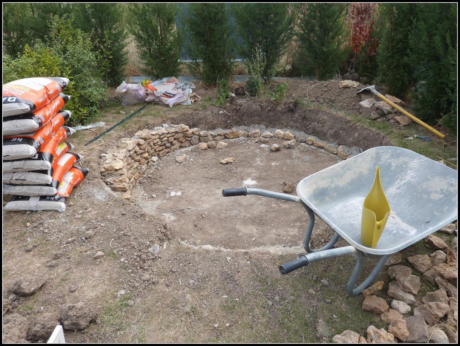 Un jardin des fleurs projet en cours terrasse ronde for Projet terrasse en 3d