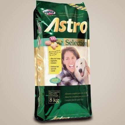 Ração pra cachorro Astro Selections