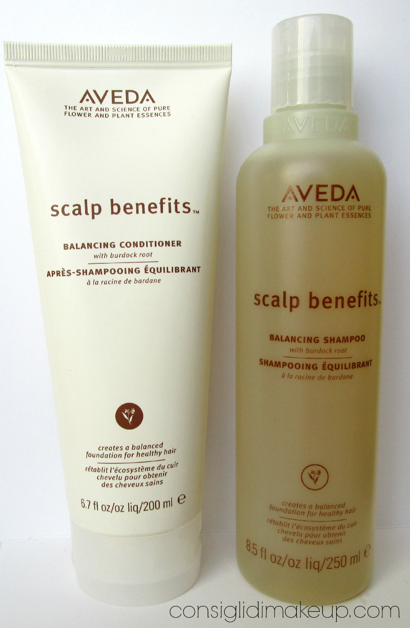 Review: Scalp Benefits, Scalp Remedy e Color Conserve - Aveda