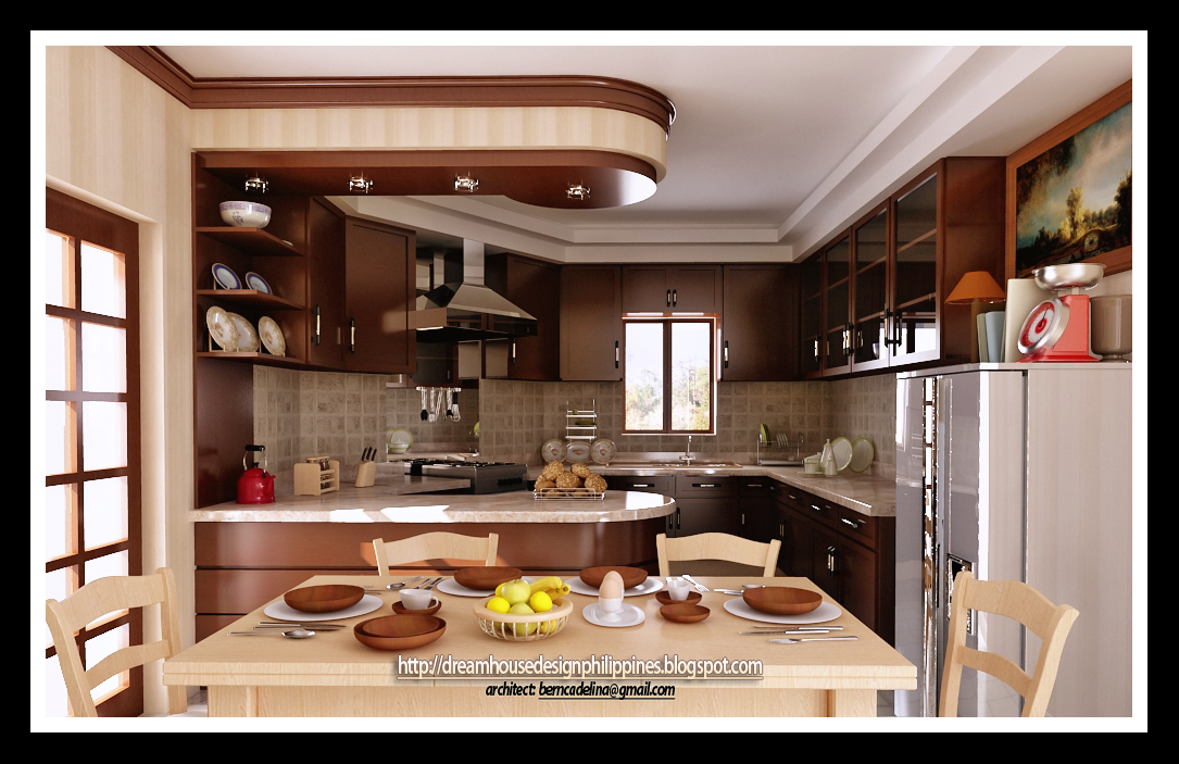 Philippine dream house design kitchen design for Pictures of house interior designs in the philippines