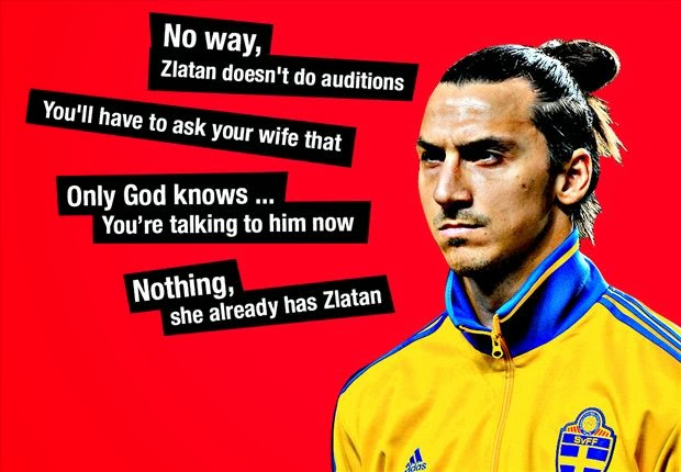 The Greatest Quotes From Zlatan Ibrahimovic  Hilarious