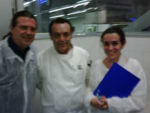 Con Carmen y Manuel.