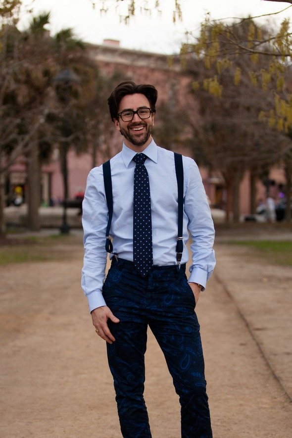 mens fashion charleston street style southern street style suspenders men and ties the stylepreneur