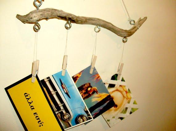 DIY κορνίζες, κάδρα, κορνίζες, θαλασσόξυλα, copla, διακοσμητικές κορνίζές, φυσικά υλικά
