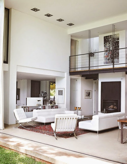 Interior Design DoubleHeight Family Dwelling in Johannesburg