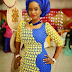 Blue and Yellow, African Wedding Dress
