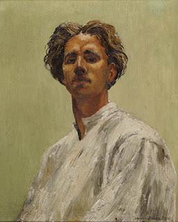 Mervyn Peake, autoritratto, 1933
