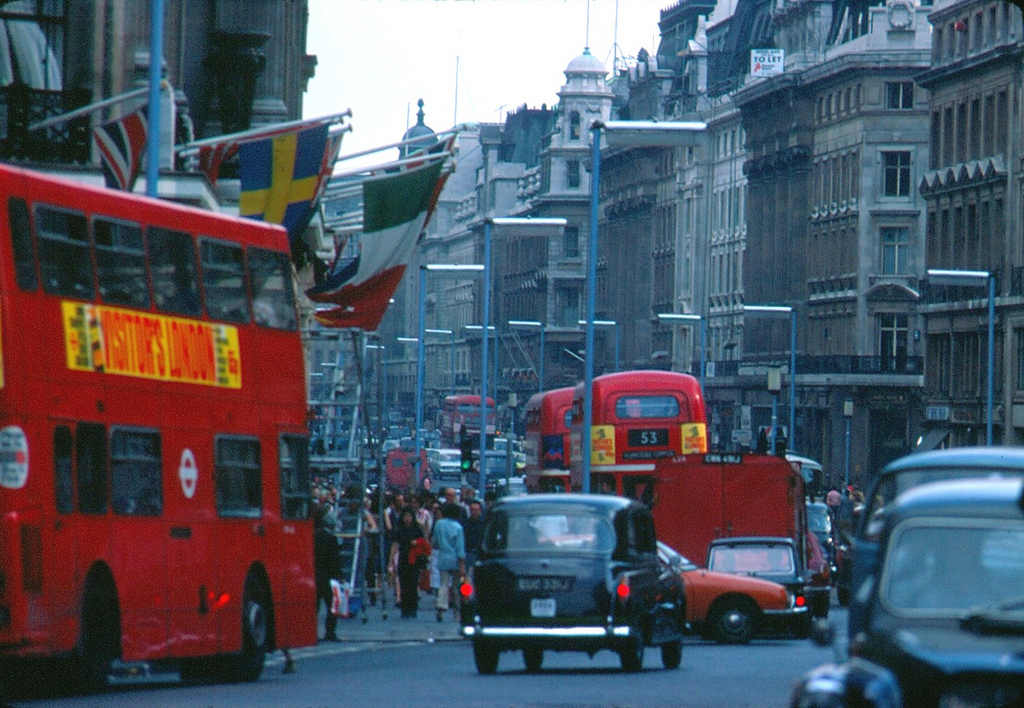 Streets Of London In 1976 Vintage Everyday