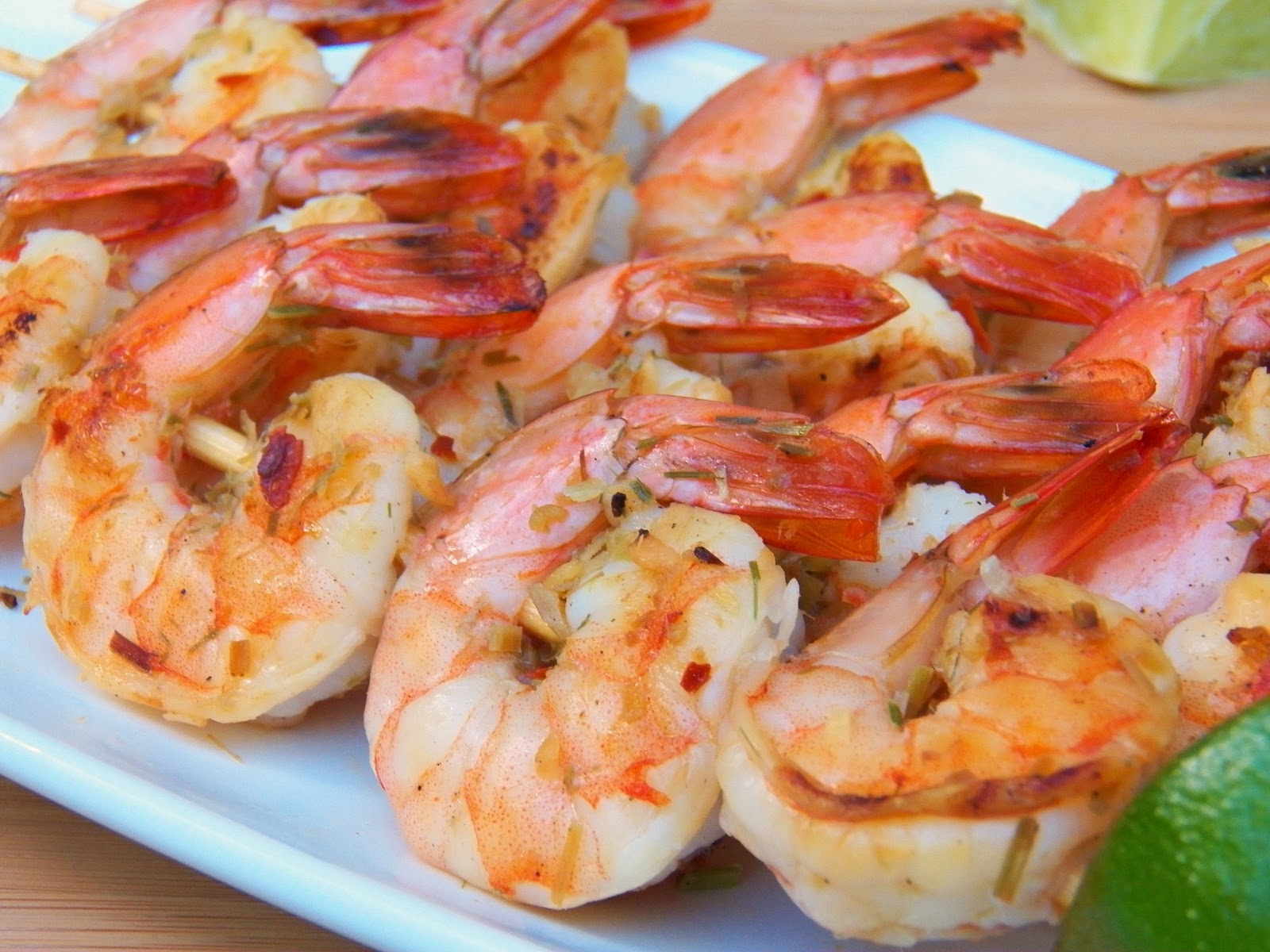 Grilled Lemongrass Shrimp | In Good Flavor | Great Recipes | Great ...