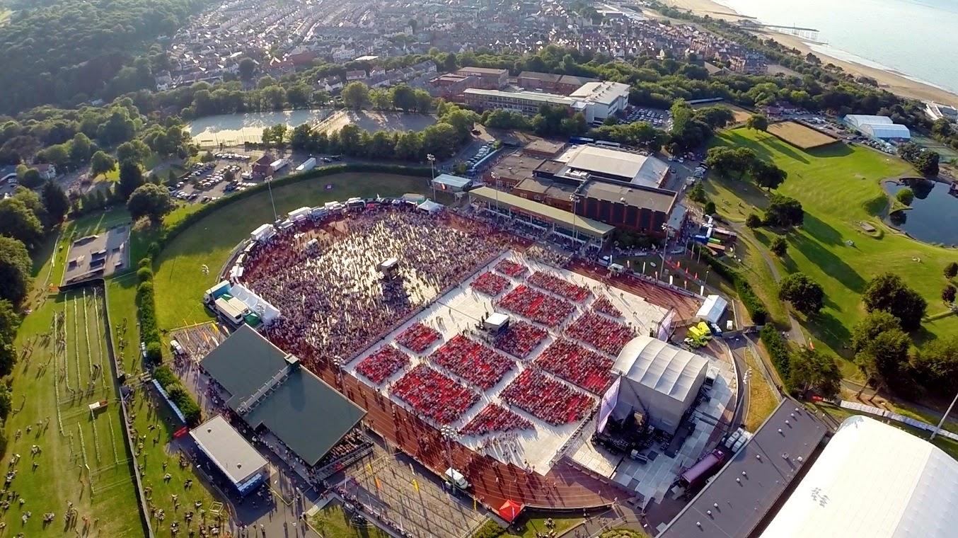 Eirias Stadium Revs Up For Spectacular Opening Ceremony To