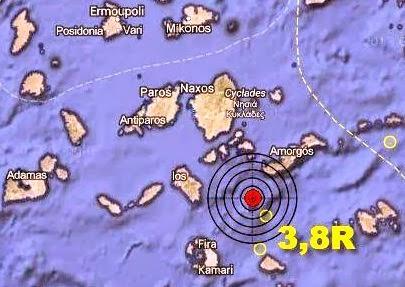 Τους ξύπνησε ο σεισμός στην Σαντορίνη!