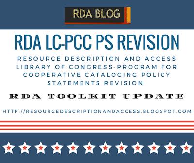 Resource Description and Access RDA