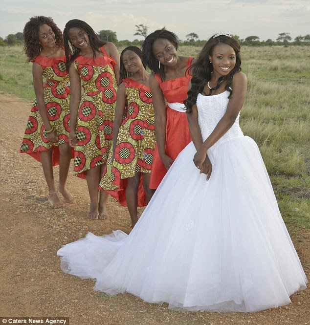 Zimbabwe Traditional Wedding Dresses 79