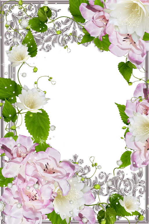 Marcos de Fotos con Flores Varios diseños. Marcos de 15 años ...