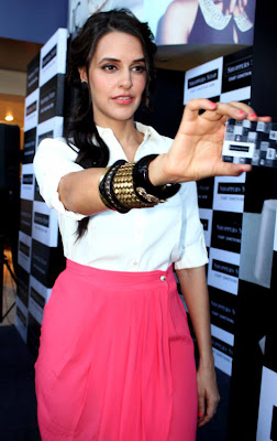 neha dhupia at shoppers stop gift card launch latest photos