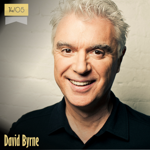 14 de mayo | David Byrne - @TalkingHeadsOff | Info + vídeos