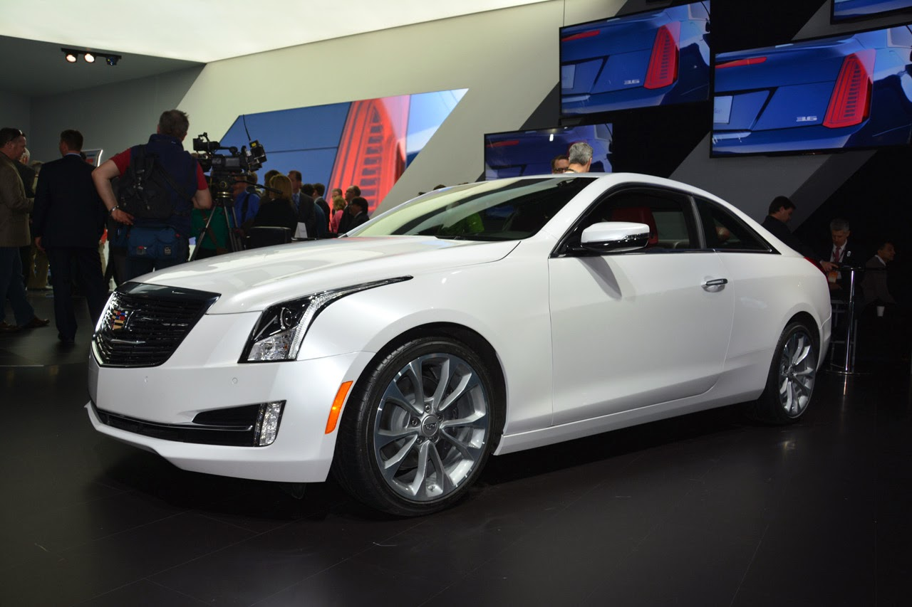 automotiveblogz 2015 cadillac ats coupe detroit 2014 photos. Black Bedroom Furniture Sets. Home Design Ideas