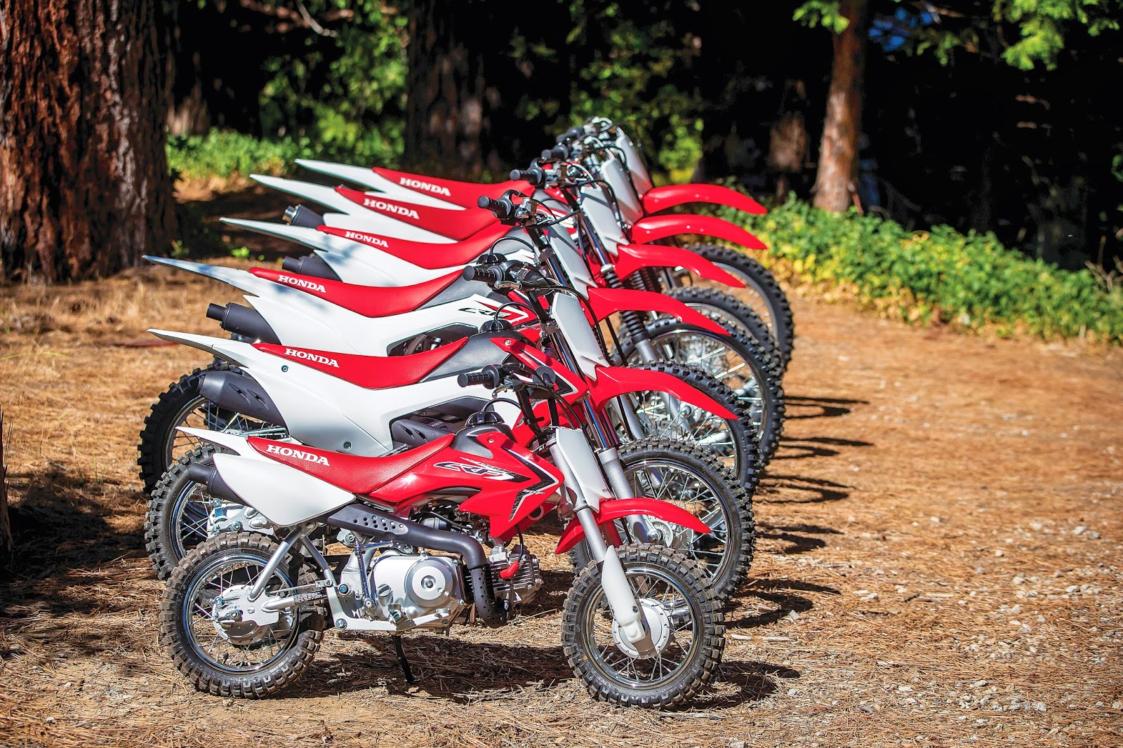 Honda CRF A-Z Motorcycle Images