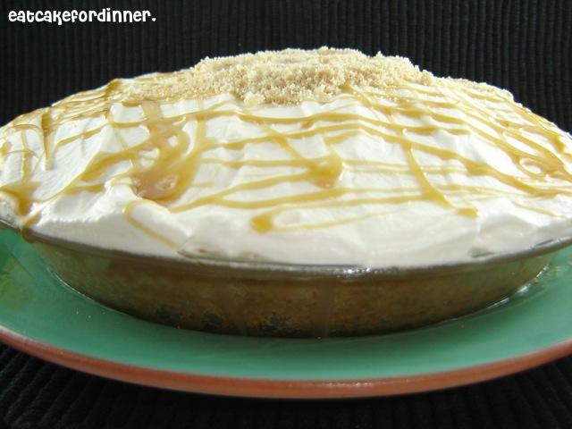 Eat Cake For Dinner: Caramel Banana Pudding Pie