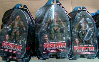 NECA Predator Series 8 Jungle Extraction Dutch Figure in Package