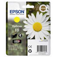 Cartucho Epson T1804 tinta amarillo