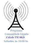 Ouça o nosso Programa na Rádio Cidade FM