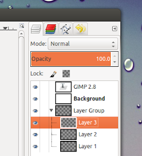 gimp 2.8 layer groups