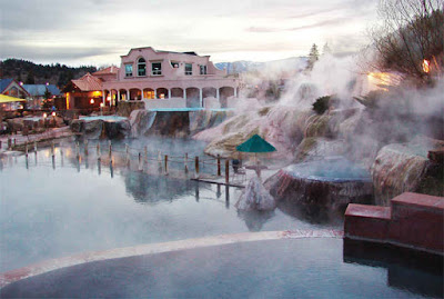 Pagosa Hot Spring Colorado US
