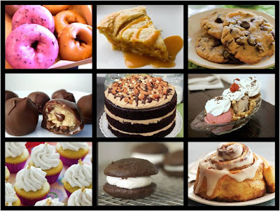Vegan Dessert Collage Veega