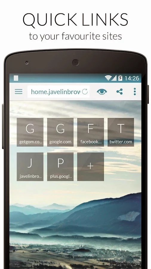Javelin Browser Pro v4.1.9 Patched