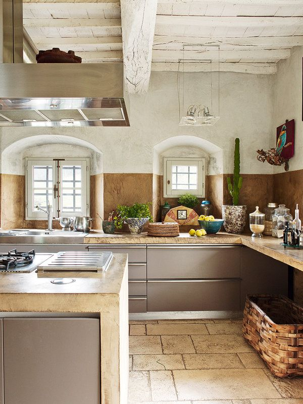 Rustic Kitchen Appliances