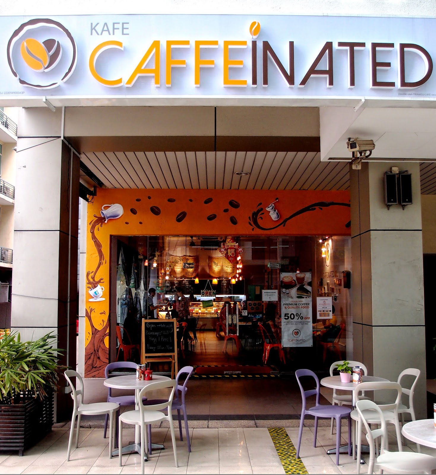 caffeinated ioi boulevard bandar puchong jaya puchong coffee infused cafe - Expansive Cafe 2015