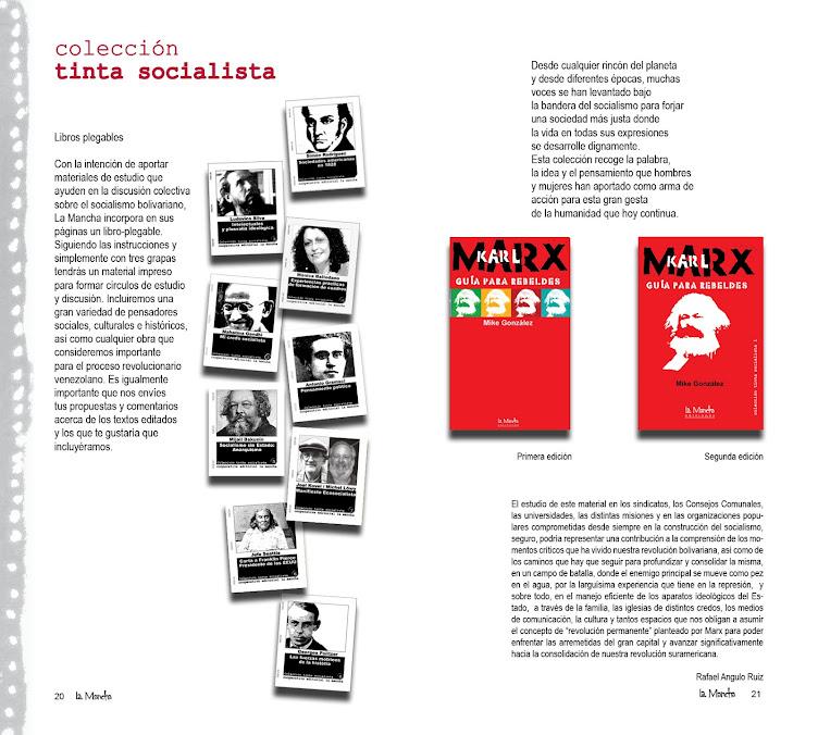 COLECCIÓN TINTA SOCIALISTA