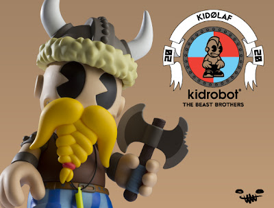Kidrobot 20: KidØlaf Vinyl Figure by The Beast Brothers