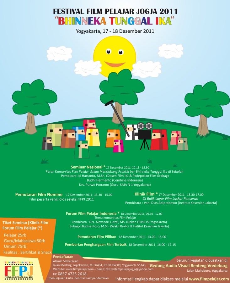 Festival Film Pelajar Jogja 2011 : BHINNEKA TUNGGAL IKA