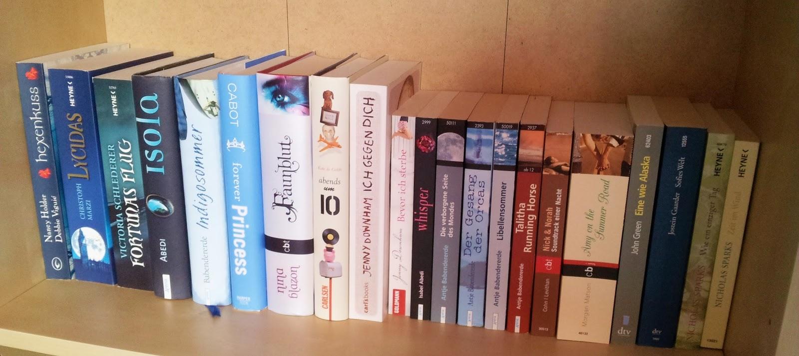 Bücher nebeneinander  Montagsfrage: Wie sortierst du deine Bücher? - The Written Word