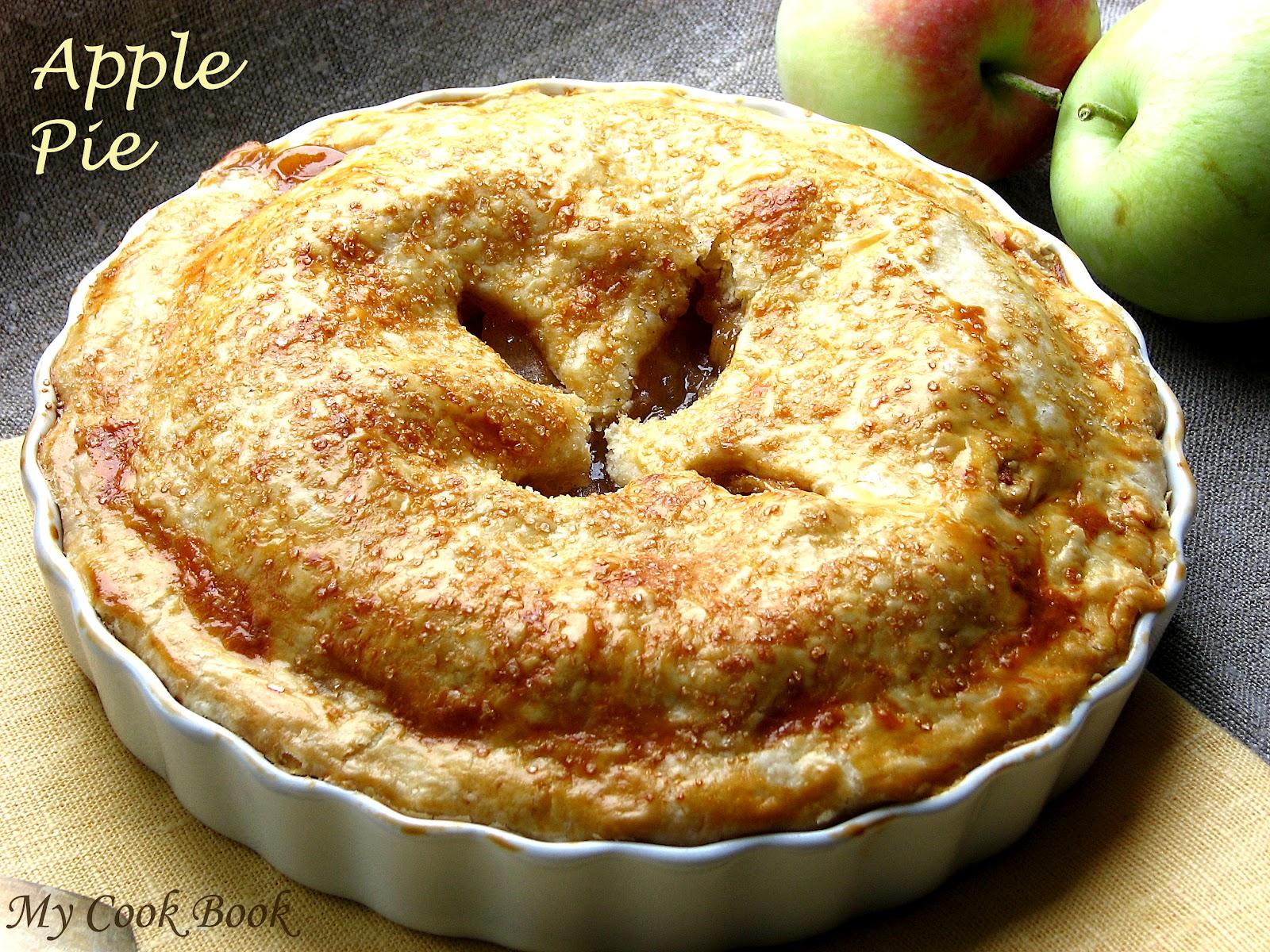 Пошаговый фото рецепт яблочного пирога
