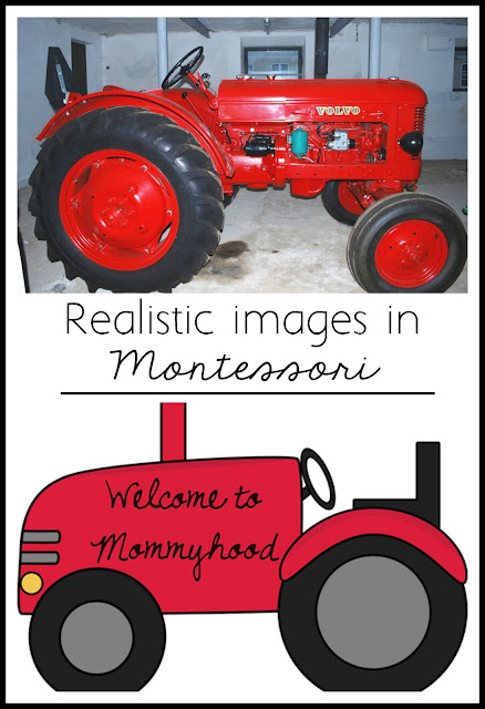Realistic images in Montessori by Welcome to Mommyhood #preschool, #montessori,