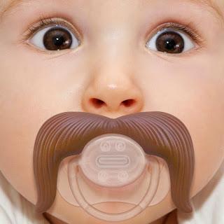 Gambar bayi lucu pakai kumis 34