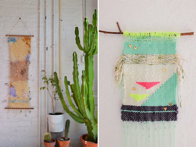 Blog maison - décorer un mur- tissage mural