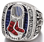 2013 Red Sox Championship ring
