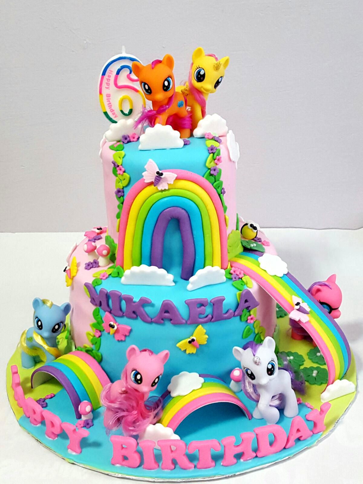 Oven Creations Happy 6th Birthday Mikaela