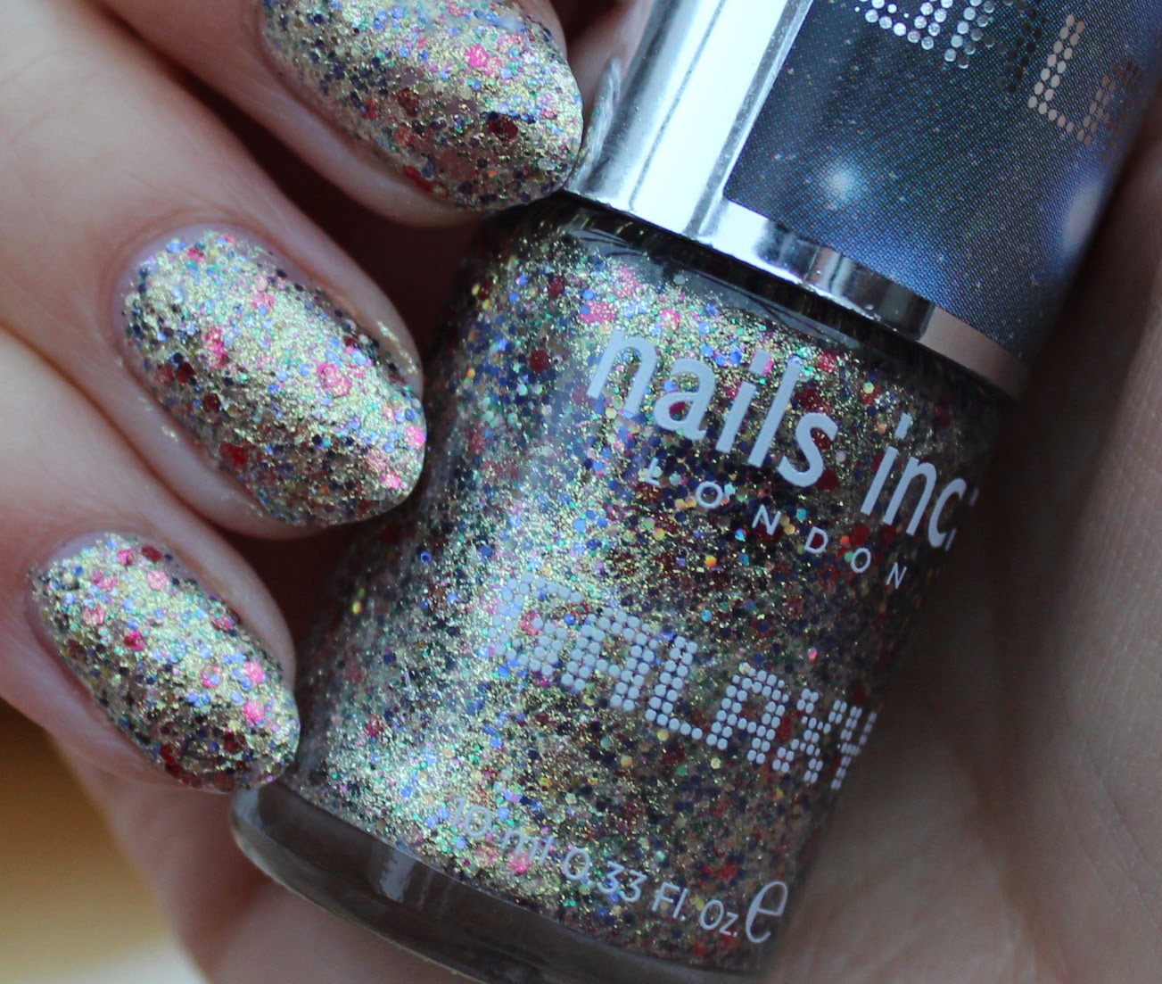 BEAUTY & LE CHIC: New Year\'s Eve Nails and THE Nails Inc Diary