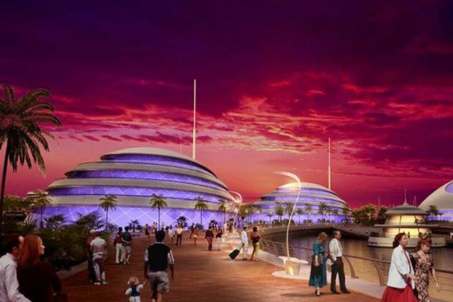 Amphibious 1000 new Luxury Resort in Qatar