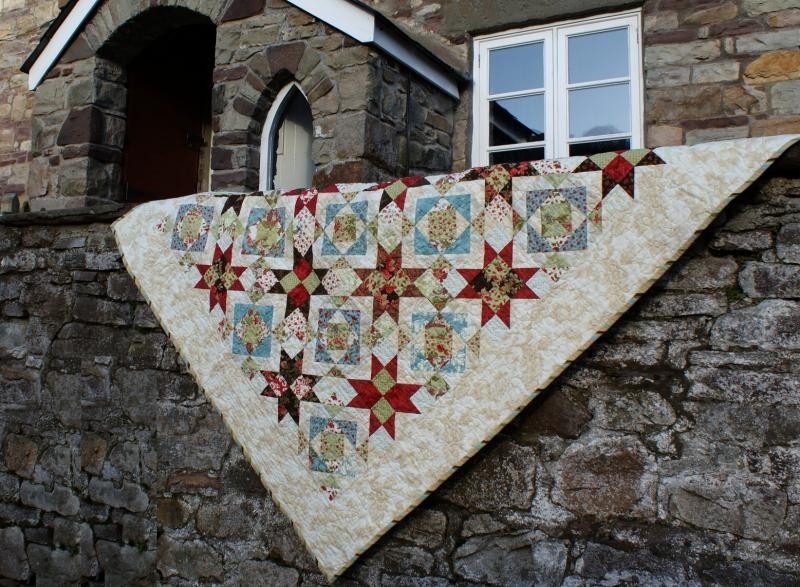 Bouts Choisis Jelly Roll Quilt