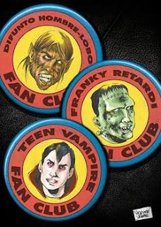 Frankie Retardi, Teen Vampire y el Difunto Hombre Lobo